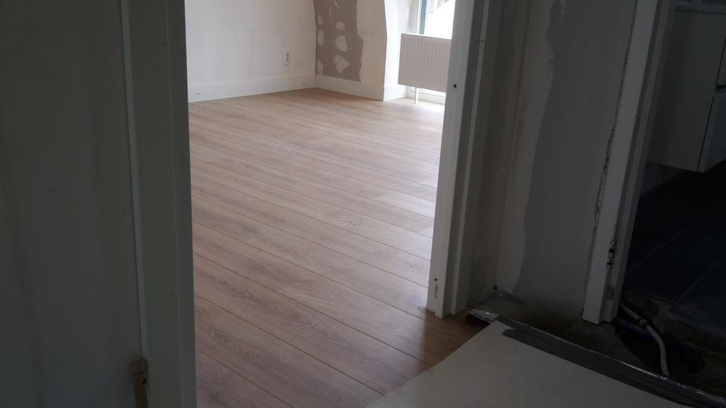 Verbouwing woonkamer Veenendaal
