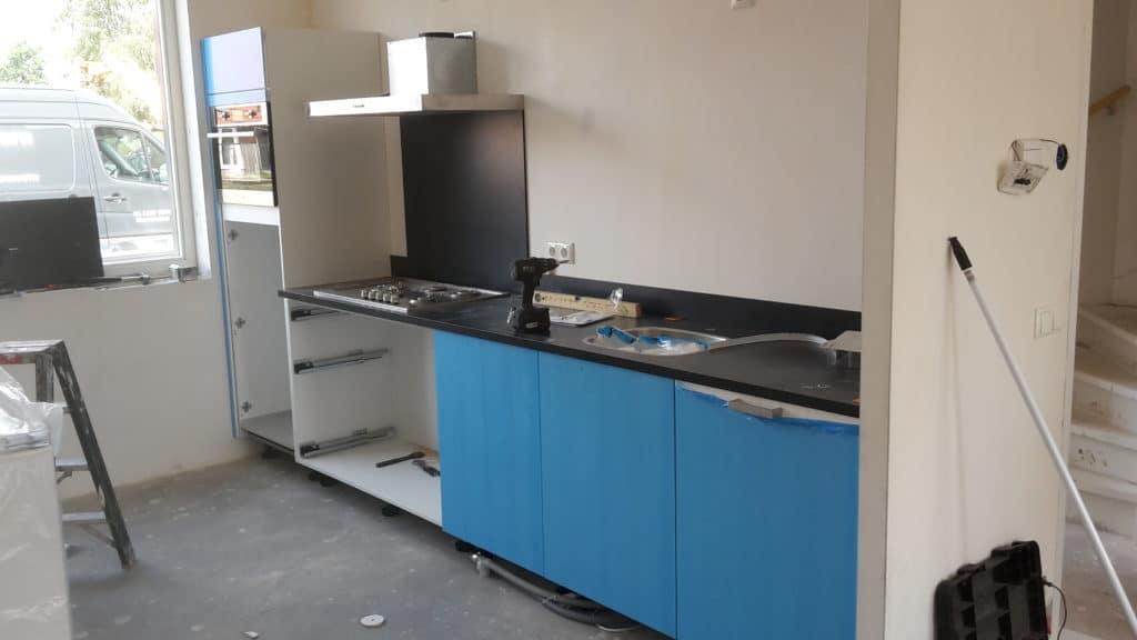 Nieuwe keukeninstallatie Van Appeldoorn Bouw